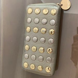 Deux lux wallet studded